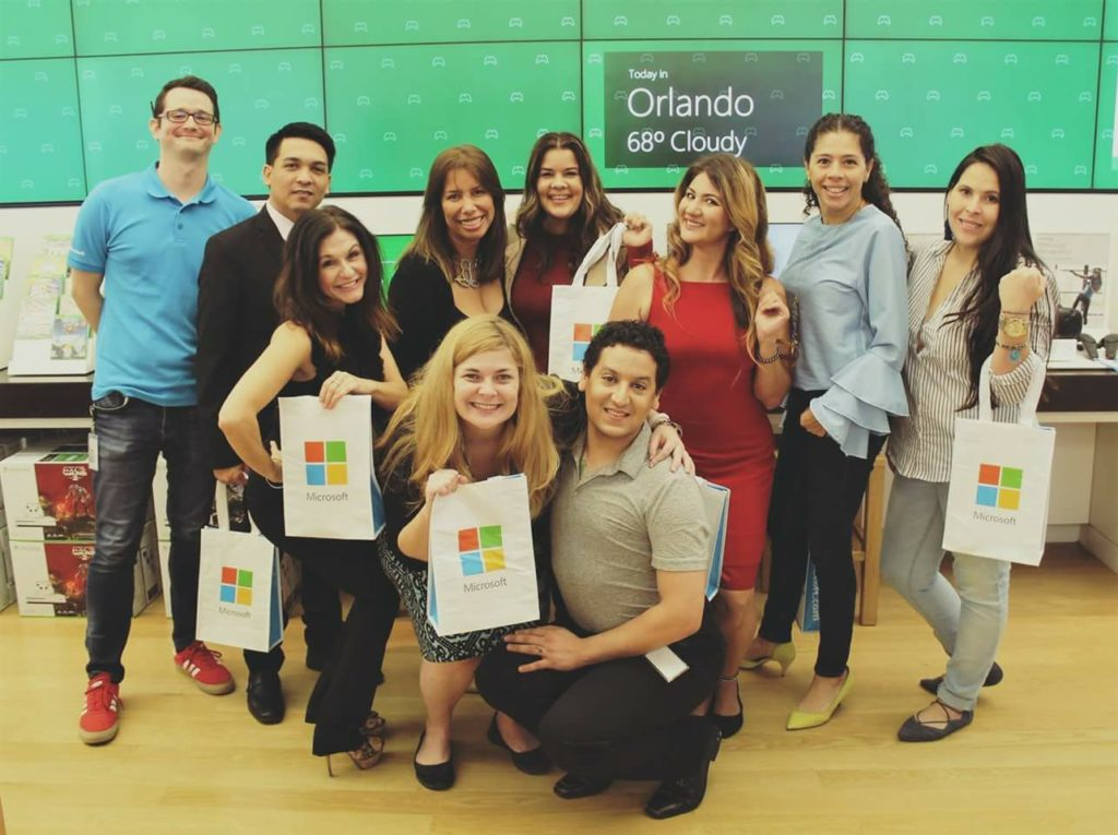 entrepreneur moms at microsoft orlando